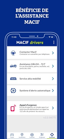 assistance Macif Drivers