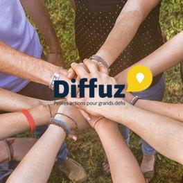 Diffuz, le réseau social des défis solidaires